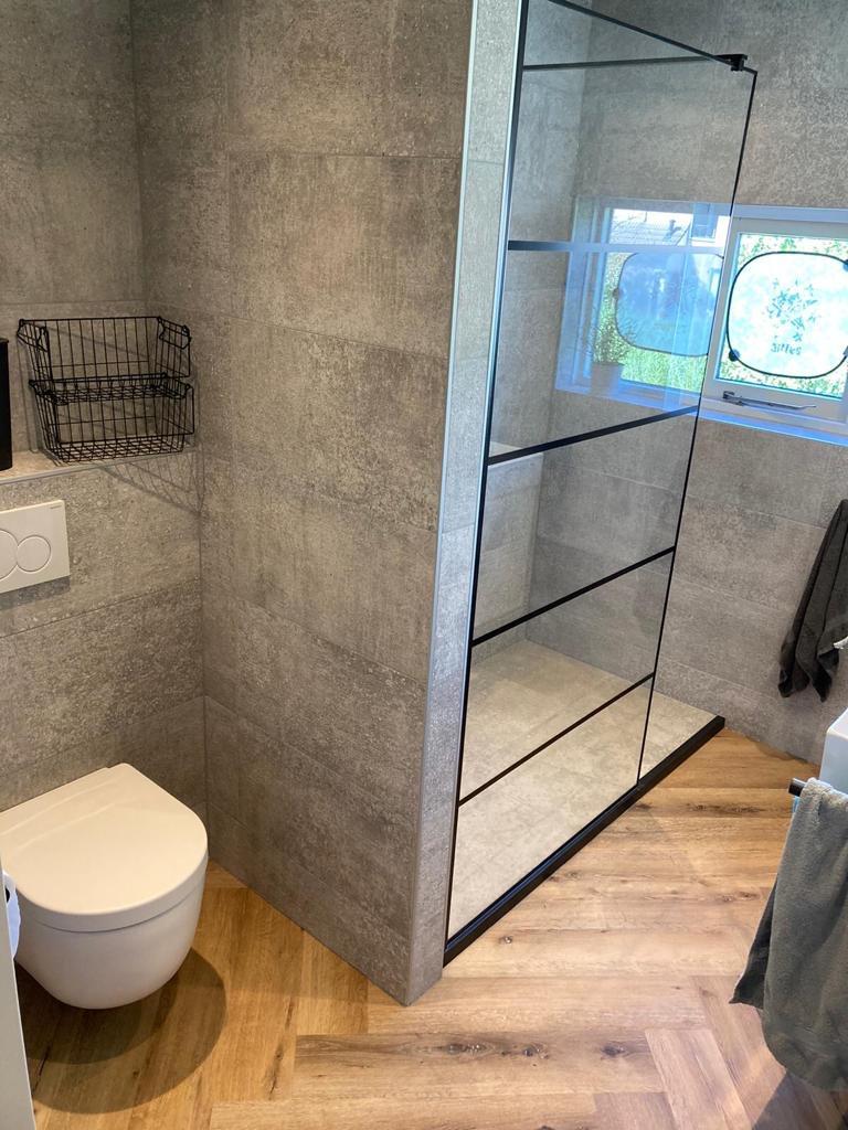 Visgraat-pvc-badkamer